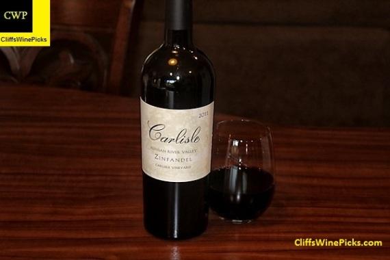 2011 Carlisle Zinfandel Carlisle Vineyard