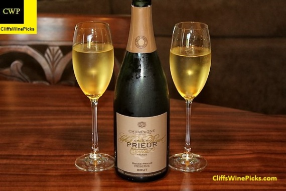 Charles & Alphrede (Ch. & A.) Prieur Champagne Grand Prieur Reserve Brut