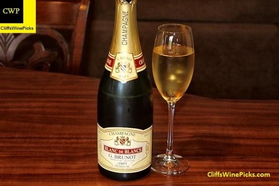 Guy Brunot Champagne Blanc de Blancs Premier Cru