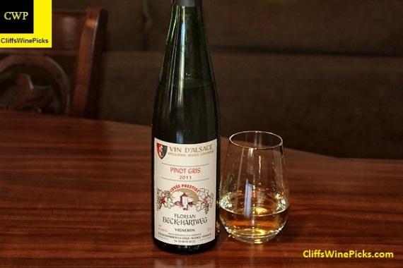 2011 Beck-Hartweg Pinot Gris Cuvée Prestige
