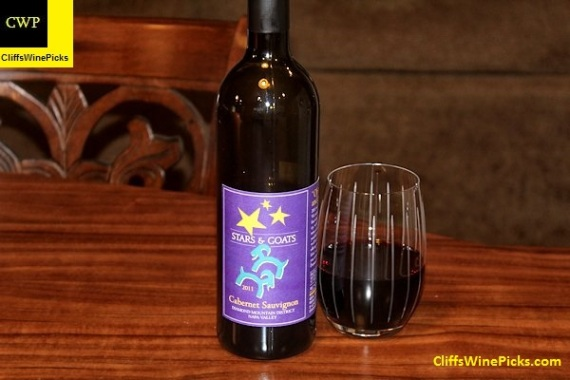 2011 Mueller Family Vineyards Cabernet Sauvignon Stars & Goats Diamond Mtn