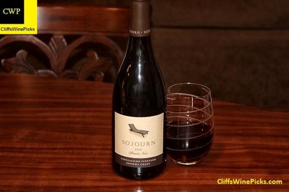 2012 Sojourn Pinot Noir Sangiacomo Vineyard
