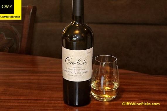 2013 Carlisle Gruner Veltliner Steiner Vineyard