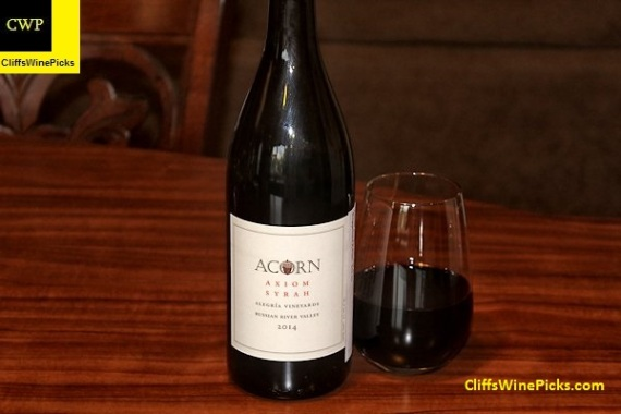 2014 Acorn Syrah Axiom Alegría Vineyards