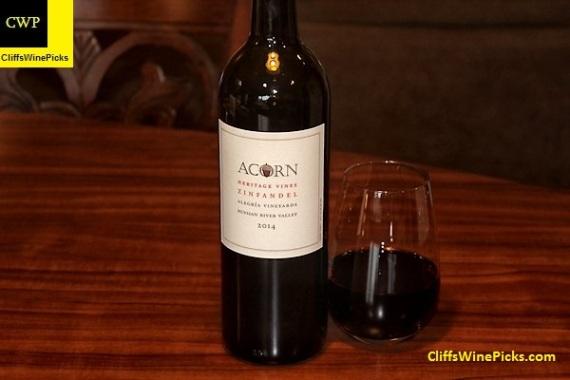 2014 Acorn Zinfandel Heritage Vines Alegría Vineyards