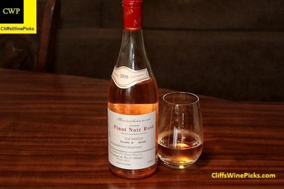 2016 d'Autrefois Pinot Noir Rosé