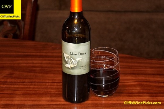 2016 Mad Duck Zinfandel Lodi