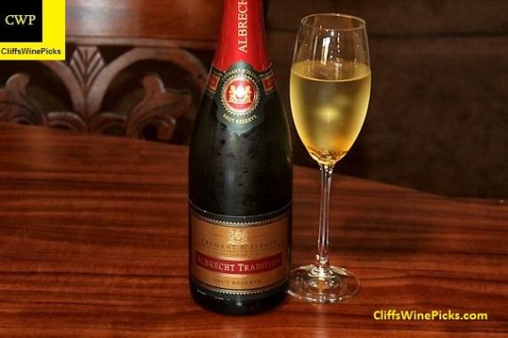 Lucien Albrecht Crémant d'Alsace Chardonnay Tradition Brut Réserve