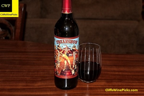 2014 Michael-David Vineyards Cabernet Sauvignon Freakshow