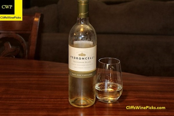 2014 Pedroncelli Sauvignon Blanc East Side Vineyards