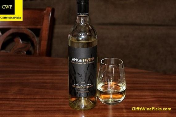 2015 LangeTwins Sauvignon Blanc Lodi