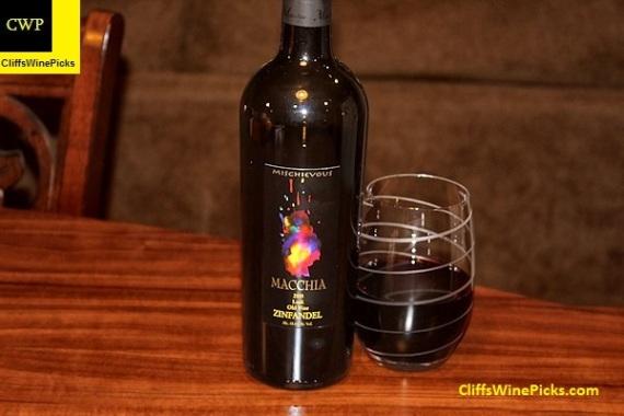 2015 Macchia Zinfandel Mischievous Old Vine Lodi