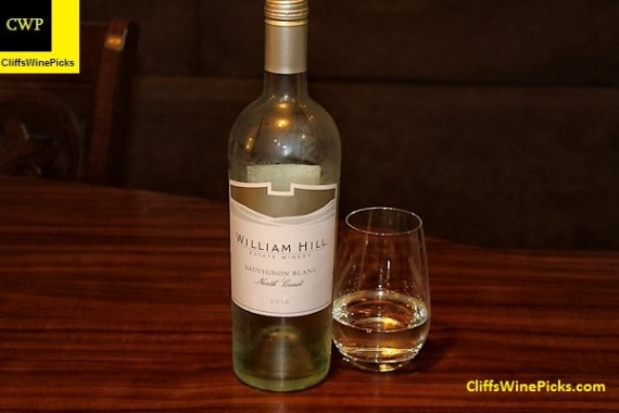 2016 William Hill Winery Sauvignon Blanc