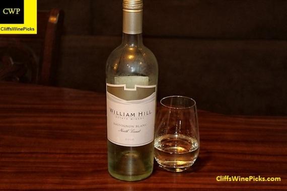 2016 William Hill Winery Sauvignon Blanc