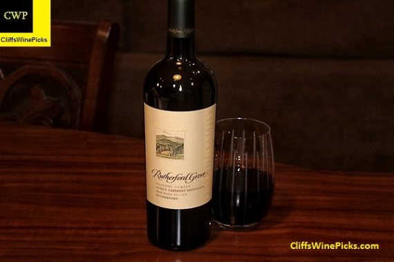 2010 Rutherford Grove Cabernet Sauvignon Estate