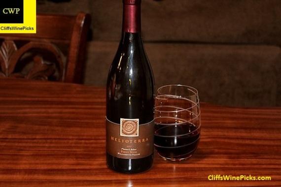 2011 Helioterra Pinot Noir Vintner's Select