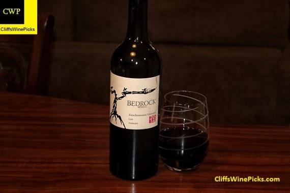 2014 Bedrock Wine Co. Zinfandel Kirschenmann Vineyard