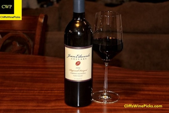 2006 Jean Edwards Cellars Cabernet Sauvignon Stagecoach Vineyard