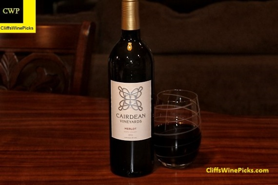 2012 Cairdean Vineyards Merlot