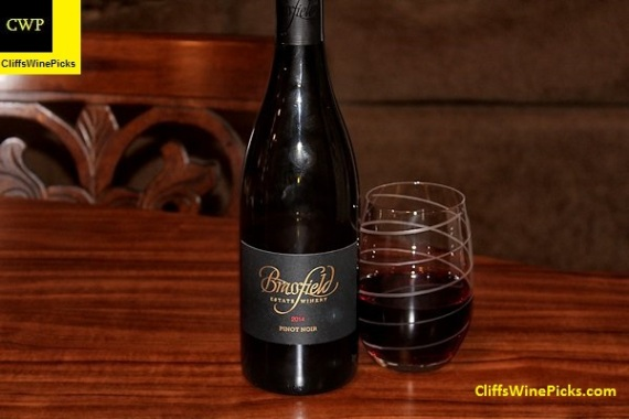 2014 Brassfield Estate Winery Pinot Noir High Serenity Ranch