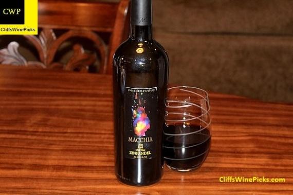 2015 Macchia Zinfandel Mischievous Old Vine
