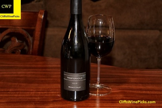 2013 Westerhold Family Vineyards Pinot Noir Westerhold Vineyard