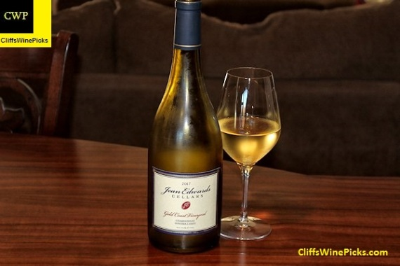 2017 Jean Edwards Cellars Chardonnay Gold Coast Vineyard