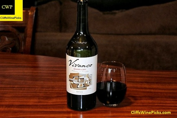 2011 Vivanco Rioja Reserva
