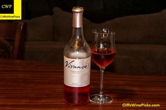 2016 vivanco rioja tempranillo-garnacha rosado