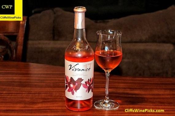 2017 Vivanco Rioja Tempranillo-Garnacha Tinta y Blanca Rosado