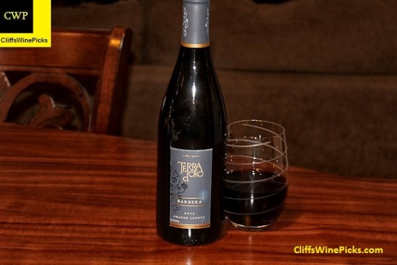 2013 Terra d'Oro Winery Barbera