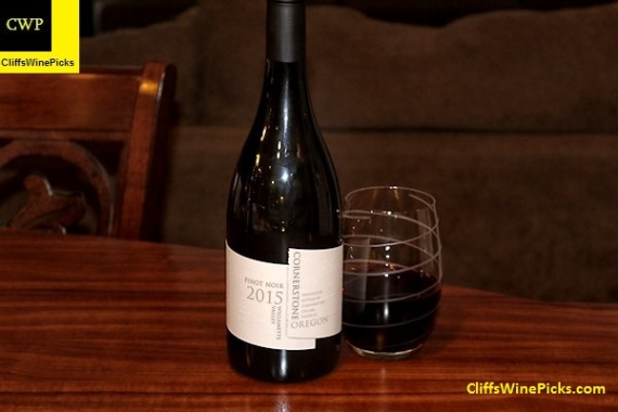 2015 Cornerstone Cellars Pinot Noir