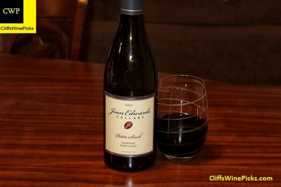 2012 Jean Edwards Cellars Petite Sirah